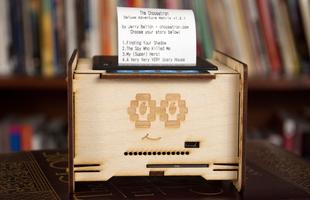 MN VR and HC - Choosatron Interactive Fiction Machine
